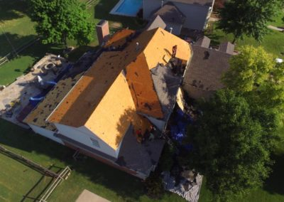 A home that received our roofing services in Tulsa, OK